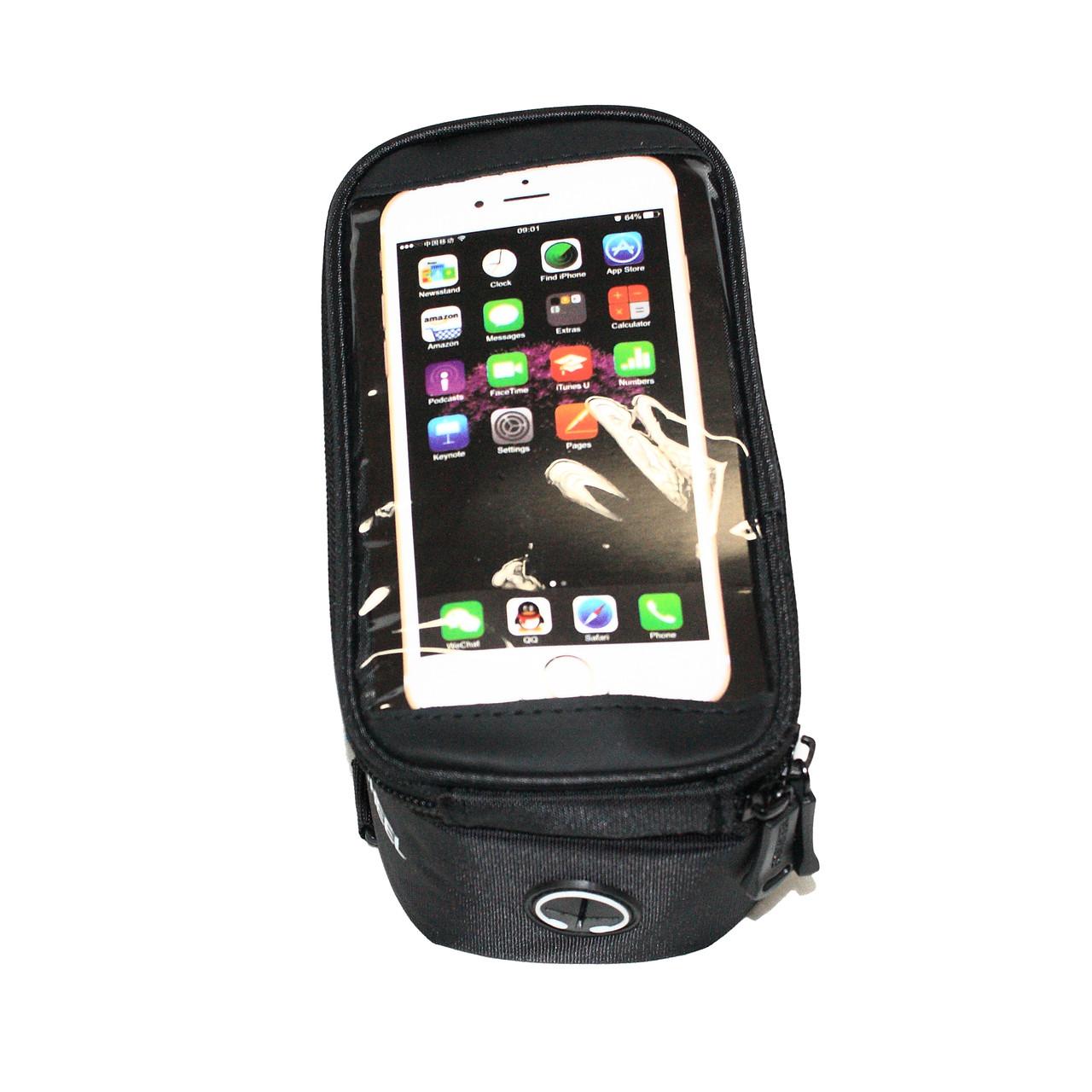 Сумка на раму ROSWHEEL для инструмента и смартфона 5.5″, (GA-43)