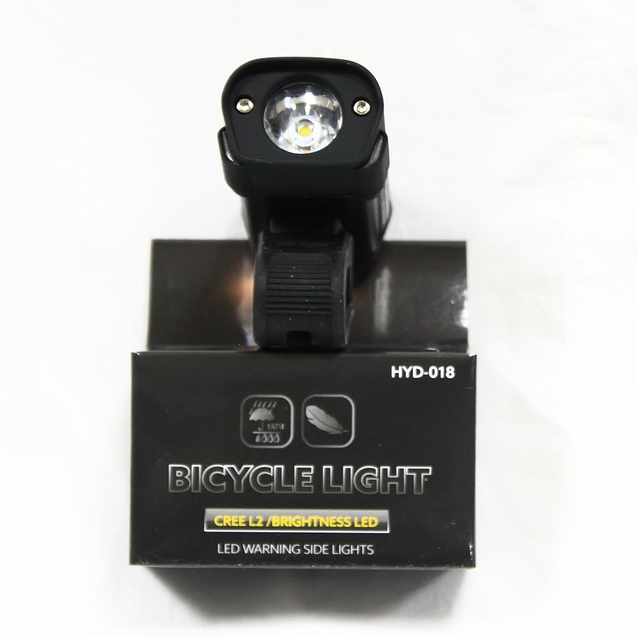 Фара с зарядкой под USB, модель HYD-018L2 (GA-24), черный