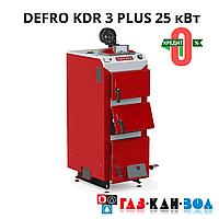 Твердопаливний котел DEFRO KDR PLUS 25 кВт
