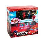 Набір іграшок автобус і фігурка Леді в червоному з котом, фото 2