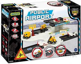 Автомобильный трек Wader Play Tracks City Аэропорт (53550)