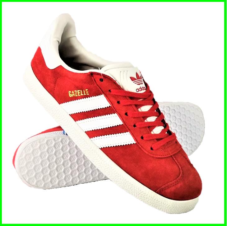 Кроссовки Adidas Gazelle Красные Мужские Адидас (размеры: 41,43,45) Видео Обзор, фото 2