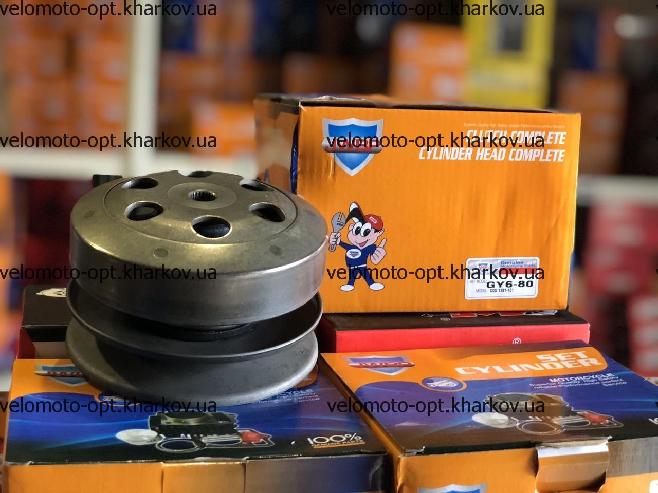 Вариатор задний (сцепление) JWBP 50-80 куб для скутера