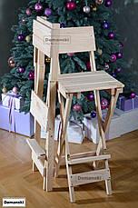 Для кофейни. Стул для визажиста складной. Барный складной высокий стул., фото 3
