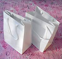 Пакет паперовий 150х90х200 білий