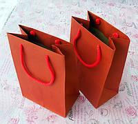 Пакет паперовий 150х90х200 червоний