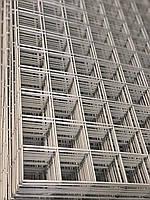 Металлическая торговая сетка 100/160см ячейка 5см БЕЛАЯ, фото 1