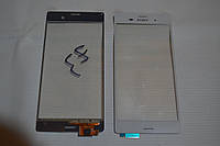 Оригинальный тачскрин / сенсор (сенсорное стекло) Sony Xperia Z3 D6603 D6616 D6633 D6643 D6653 L55t L55u белый