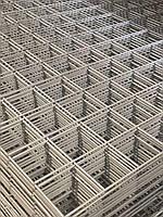 Металлическая торговая сетка 80/120см ячейка 5см БЕЛАЯ