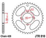 Звезда задняя стальная  JT JTR810.41 JT Sprockets, фото 2