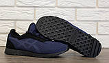 Кроссовки мужские летние синего цвета (Пр-3302сн), фото 8