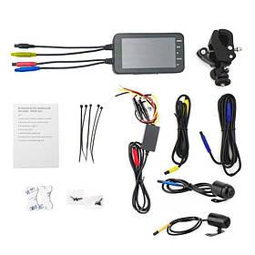 Відеореєстратор для мотоцикла на 2 камери FHD 1080P wifi G-sensor КОД: 100572