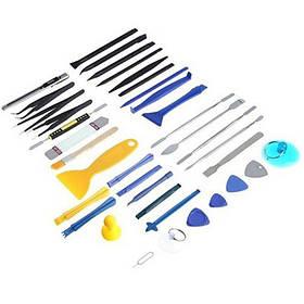 Набор инструментов для ремонта мобильных телефонов и ноутбуков Bakeey RT-37 37 предметов  КОД: 100577