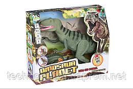 Динозавр Same Toy Dinosaur Planet зеленый со светом звуком (RS6126AUt)