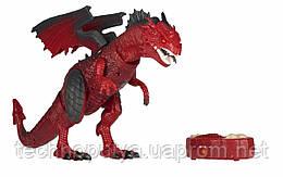 Динозавр Same Toy Dinosaur Planet Дракон красный со светом и звуком (RS6139AUt)