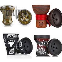 Чаши для кальяна (глиняные и силиконовые)