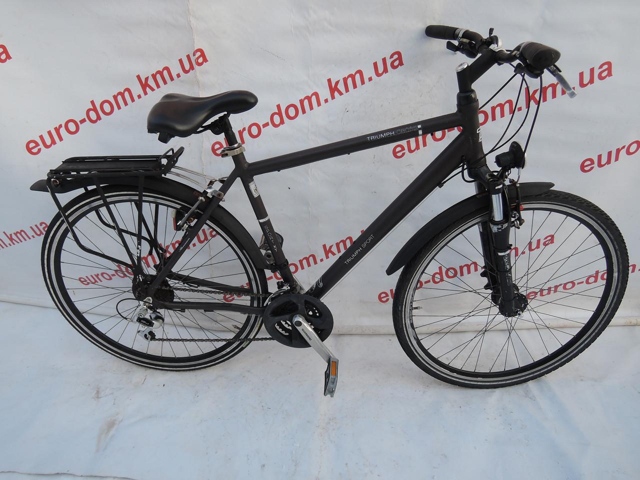 Городской велосипед Triumph 28 колеса 24 скорости