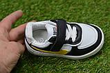Дитячі кросівки для хлопчика Nike білі р21-26, копія, фото 4