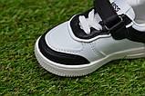 Дитячі кросівки для хлопчика Nike білі р21-26, копія, фото 6