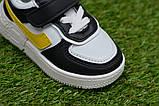 Дитячі кросівки для хлопчика Nike білі р21-26, копія, фото 7