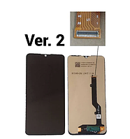 Дисплей (экран) для ZTE 20 Smart Blade V2050, версия 2 + тачскрин, черный, оригинал