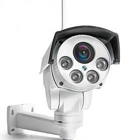 Wifi вулична камера поворотна PTZ з 5Х наближенням Boavision B987W 2 Мп КОД: 100651