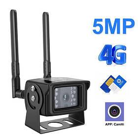 Камера відеоспостереження 4G вулична під SIM карту Zlink DH48H-5Mp 5 Мегапікселів КОД: 100471