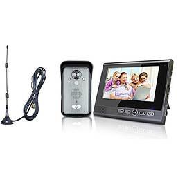 Беспроводной видеодомофон с датчиком движения Kivos KDB702  КОД: 100445