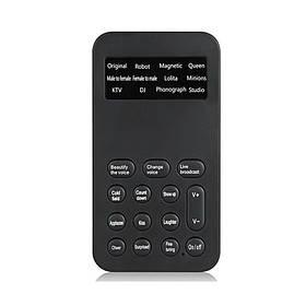 Изменитель голоса для телефона или компьютера Voice Changer VC-12  КОД: 100676