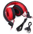 Беспроводные Bluetooth наушники Celebrat A4, (Красный), фото 4