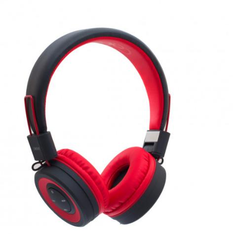 Беспроводные Bluetooth наушники Celebrat A4, (Красный)
