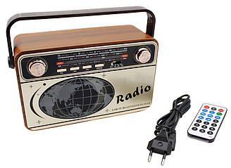 Радіоприймач Bluetooth акумуляторний з пультом Kemai MD-505
