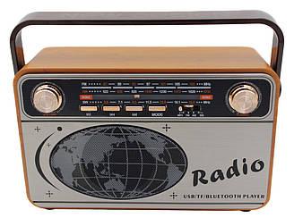 Радіоприймач Bluetooth акумуляторний з пультом Kemai MD-503