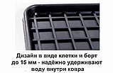 Автоковрики на Ауди Q3(8U) 2011-2019 Stingray резиновые 4 штуки, фото 6