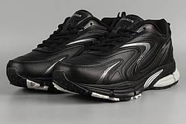 Кросівки чоловічі чорні Bona 808C Бона Розміри 41 42 43 44 45 46