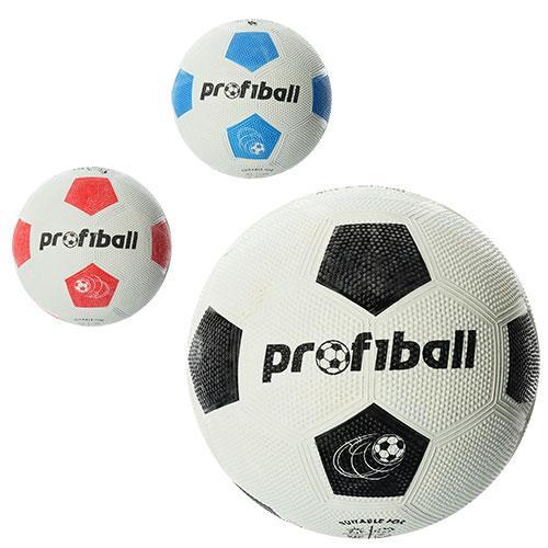 Мяч футбольный VA 0013  размер 5, резина Grain, 350г, Profiball, сетка, в кульке,