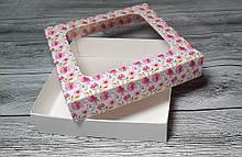 """Коробка для пряника """"весна"""" 150х150х35 мм."""