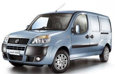 Рейлинги, поперечины Fiat Doblo (2000-2014)