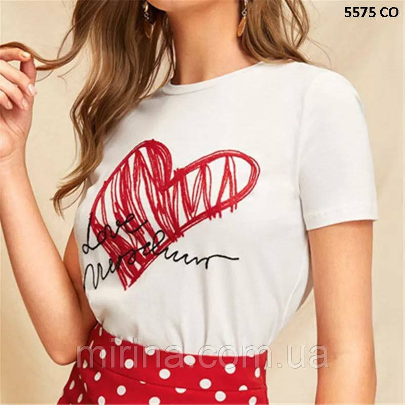 Шикарная женская футболка 5575 СО