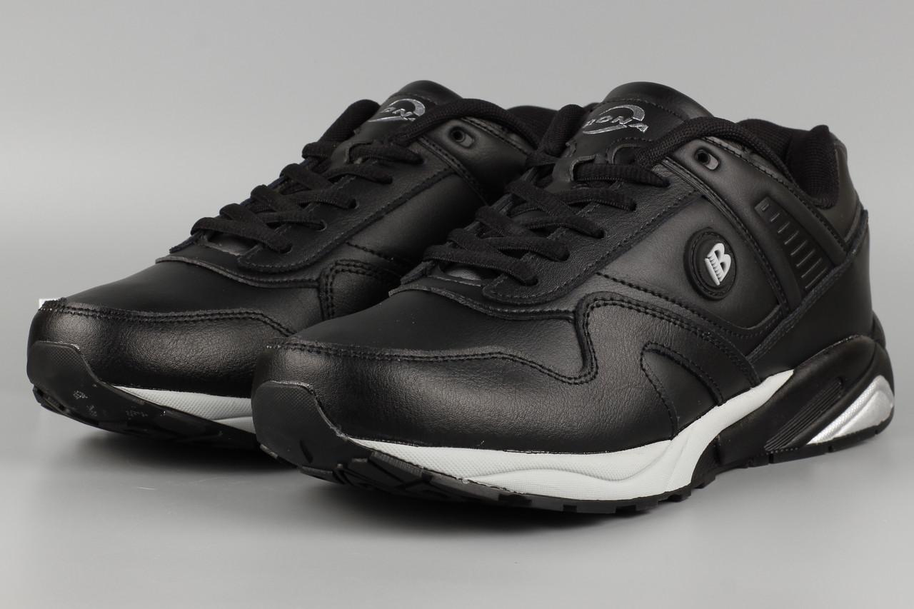 Кросівки унісекс жіночі чорні Bona 794C-2 Бона Розміри 36 37 38