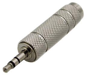 Переходник DEXP 3.5 mm jack - 6.3 mm jack