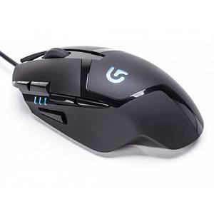 Игровая компьютерная мышь проводная Logitech G402 Hyperion Fury Чёрная (Реплика)