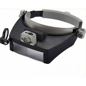 Бинокуляр очки бинокулярные со светодиодной подсветкой MG81007-RD