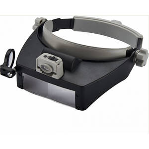 Бинокуляр окуляри бінокулярні зі світлодіодним підсвічуванням MG81007-RD