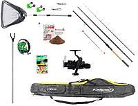 Рыболовный набор Фидерное удилище Kaida + катушка Кобра+Подарок!