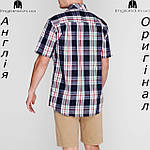 Рубашка в клетку мужская Pierre Cardin из Англии - на короткий рукав, фото 3