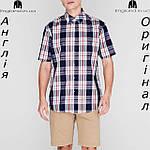 Рубашка в клетку мужская Pierre Cardin из Англии - на короткий рукав, фото 4