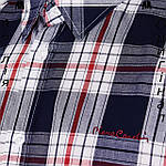 Рубашка в клетку мужская Pierre Cardin из Англии - на короткий рукав, фото 5