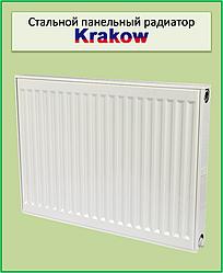 Радіатор сталевий Krakow 22k 500*500 б.п.