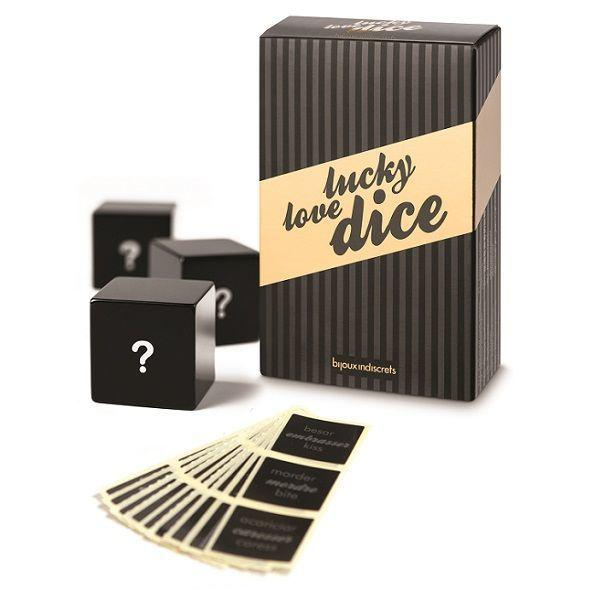 Игральные кубики Bijoux Indiscrets Lucky Love Dice